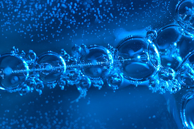 Fraktaler i bubblor. Foto 3.