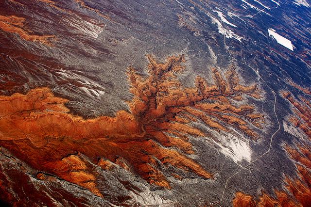 Fraktaler i eroderade klippor i Utah. Foto 7.