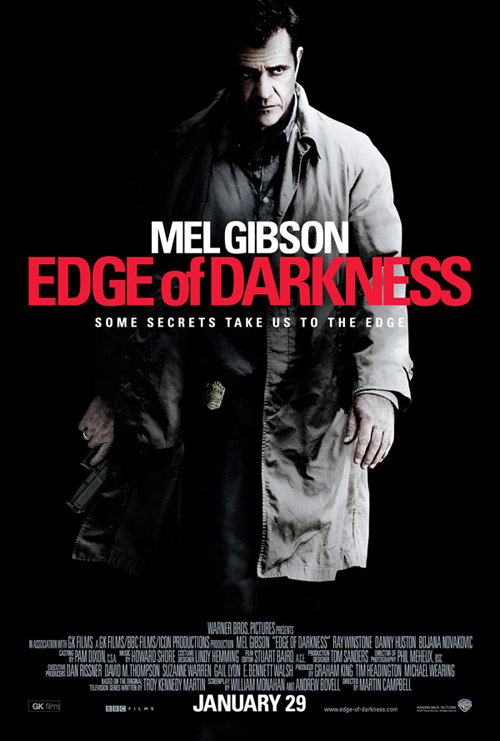 Edge of Darkness movie poster Mel Gibson
