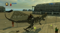 Rida dinoskelett. Check!