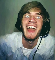 pewdie-funny-face