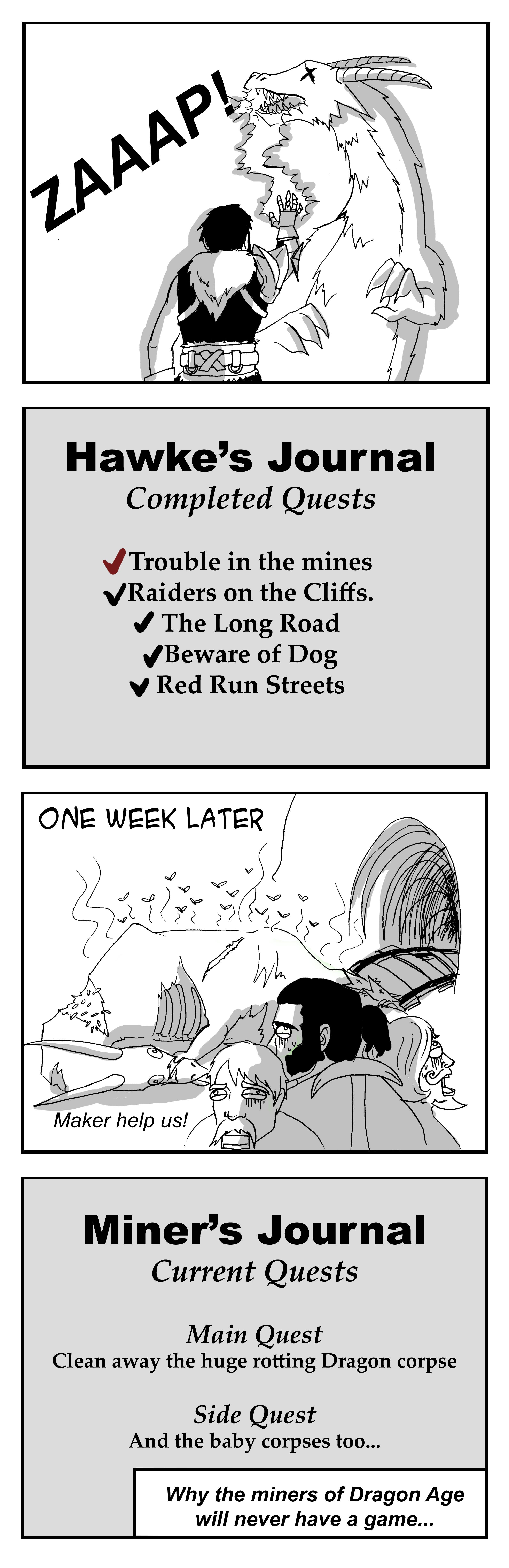 miners of dragonage- Amanda