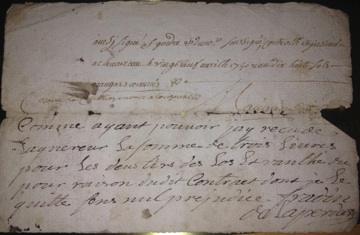 Superhemligt (och gammalt) dokument