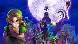 Månen som håller på att störta ner på landet Termina och den tredagars tidsupprepning som Majora's Mask bjuder på var några av Koizumis bidrag till spelet
