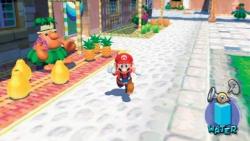 Mario far fram på Isle Delfino för att ställa allt till rätta