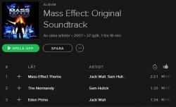 Mass Effect är i alla fall ett av spelen jag kan njuta av musiken till
