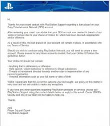 Ett av mejlen Jihad Al Mofadda fick av Sony.