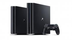 Playstation 4 Slim och Pro.