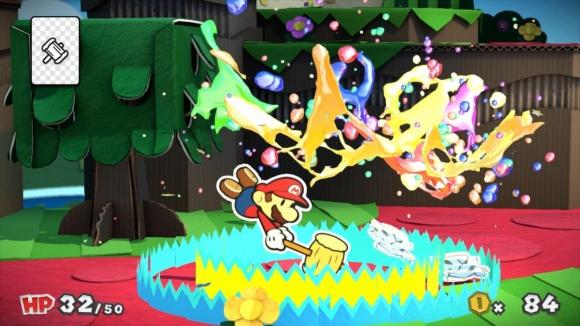 Spelets färgtema går igenom även i striderna. Tyvärr är de tämligen färglösa.